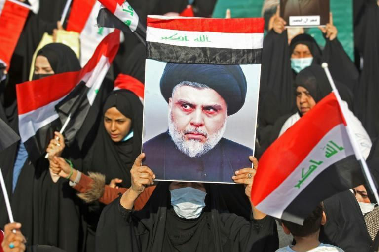 Ironically it is the leader of another armed group, populist Shiite cleric Moqtada al-Sadr, whose supporters are the Hashed's main rivals for power and influence