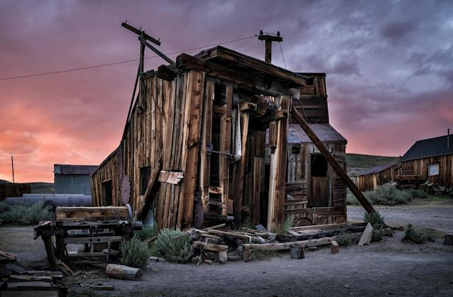 <p>The settlement was founded in 1859, following the discovery of gold in the hills east of the Sierra Nevada Mountains. (Photo: Matthew Christopher — Abandoned America/Caters News) </p>