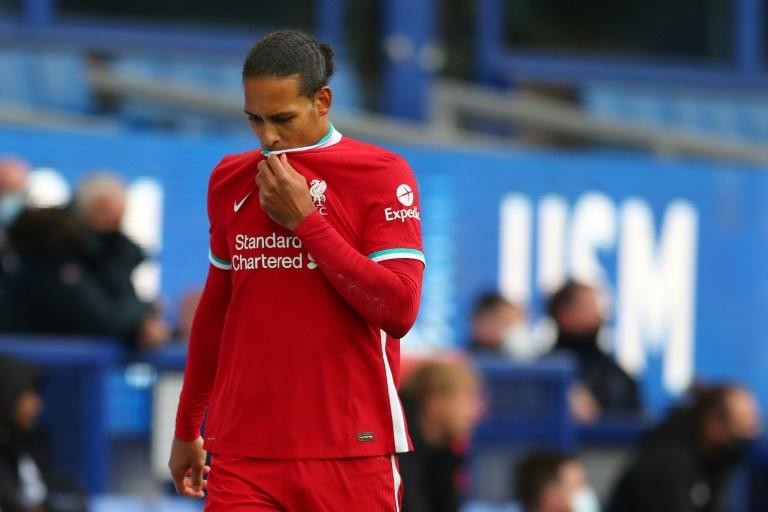 Liverpool confirm knee ligament damage for Van Dijk amid fears season is over