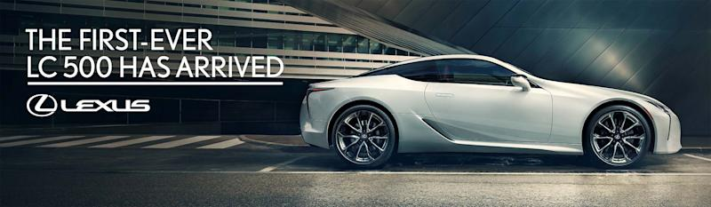 Lexus LC 500: Out Of Home Ad