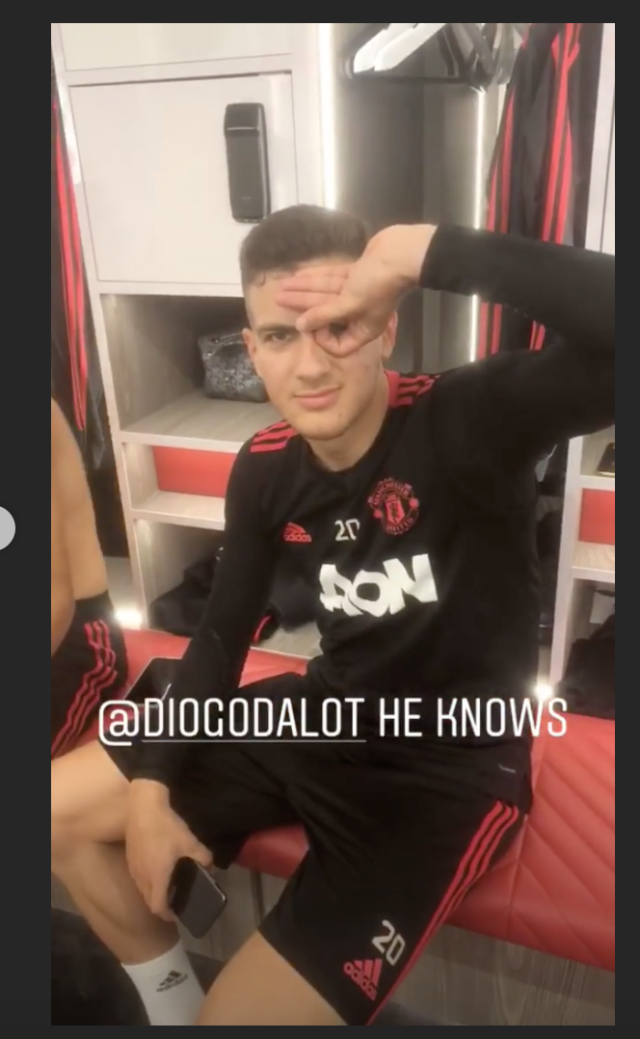 Youngster Diogo Dalot showed he could do it too