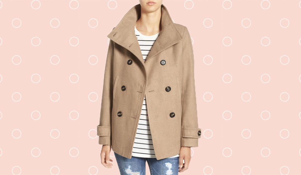 This gorgeous coat looks way more expensive than it really is. (Photo: Nordstrom)