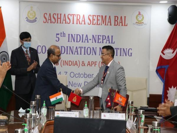 Visual from 5th Annual Co-ordination meeting between SSB DG and APF IG.
