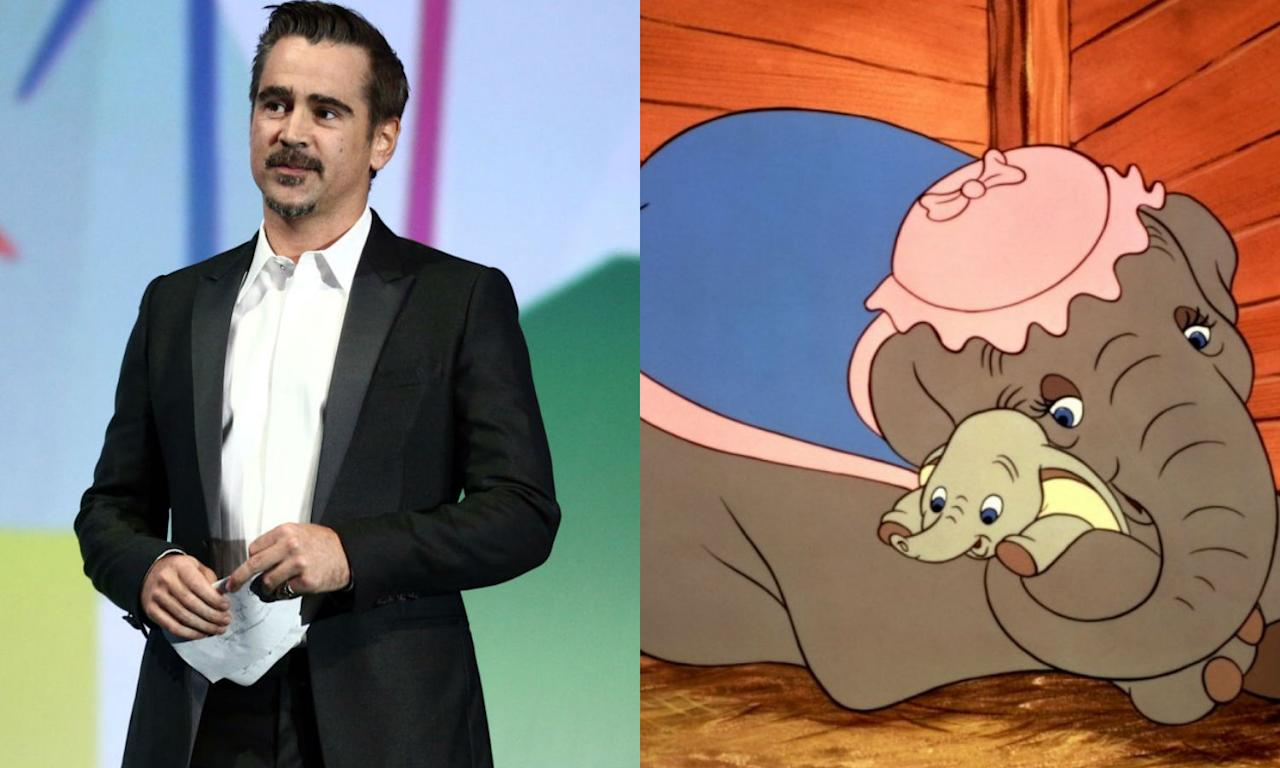 <p>Tim Burton is reimagining 'Dumbo' with Colin Farrell taking the lead as Holt Farrier, a former circus star whose life is turned upside down after returning from war. Circus owner Max Medici (Danny DeVito) enlists Holt to care for a newborn elephant whose and his children (Nico Parker and Finley Hobbins) discover that he can fly. Eva Green and Michael Keaton play an aerial artist and entrepreneur who want to make Dumbo into a star. </p>
