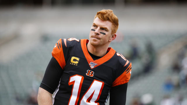 Andy Dalton will reportedly have a say in his next landing spot. (AP Photo/Frank Victores)