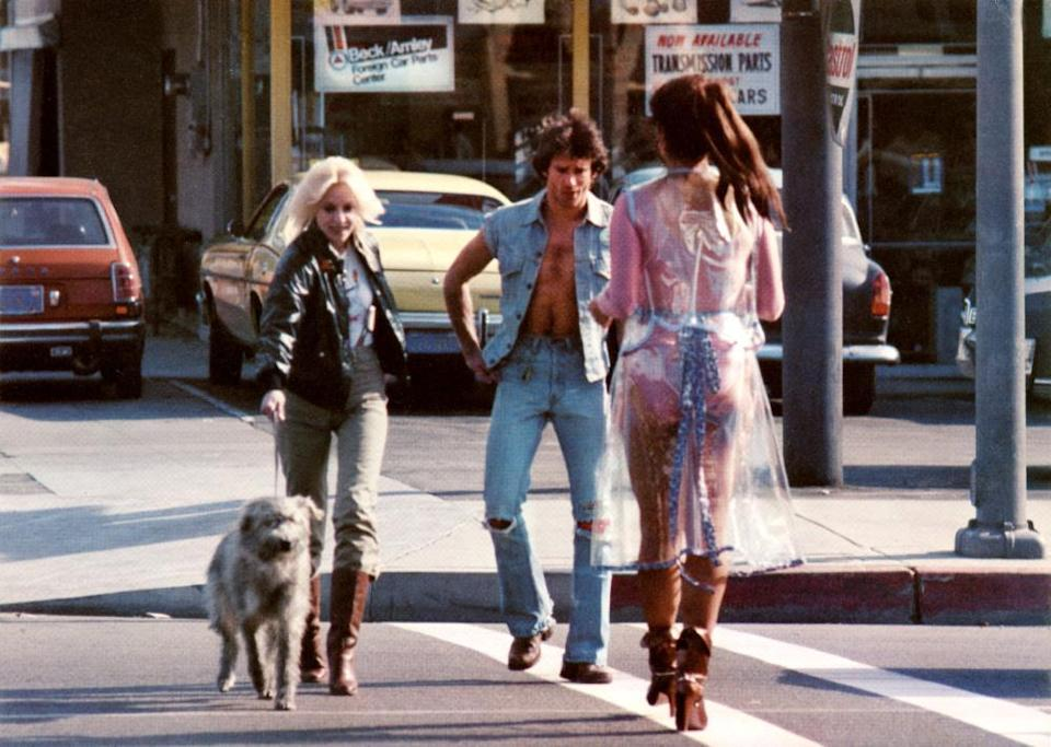 still from the movie foxes