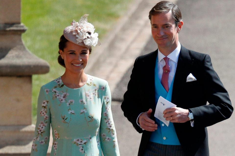 Happy: The couple welcomed the tot last month: AFP/Getty Images
