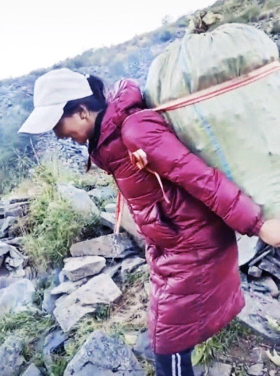 Lhamo had tried to seek help from the authorities before she was murdered by her ex-husband. Photo: Douyin
