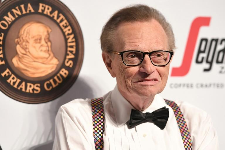 Veteran US talk show host Larry King has been hospitalised with Covid-19