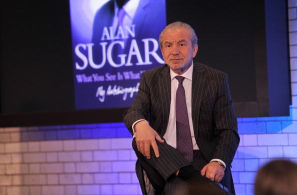Started small: perhaps Britain's mot famous entrepreneur, Lord Alan Sugar (Getty)