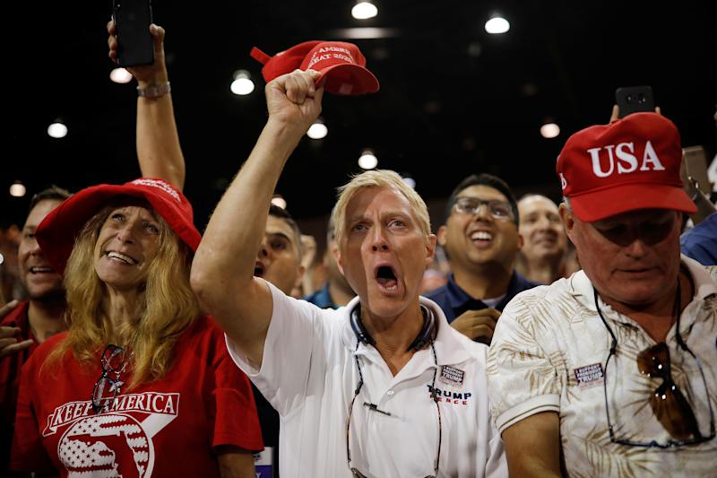 Supporters of Trump