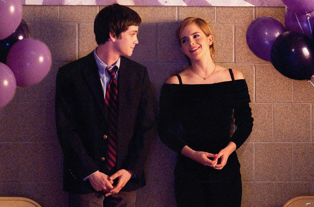 """ The Perks of Being a Wallflower "" Release date: September 21 Starring: Logan Lerman, Emma Watson and Mae Whitman"
