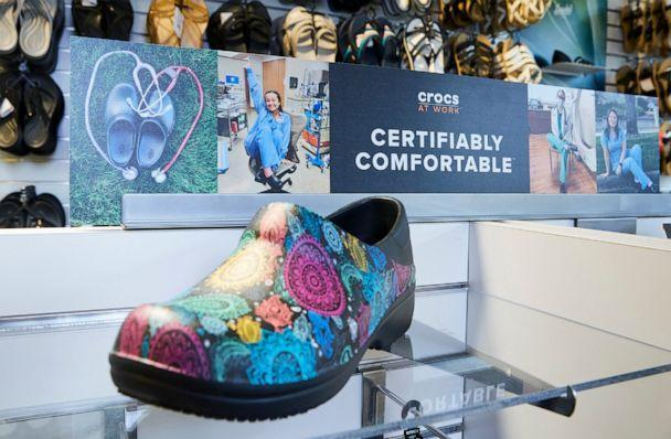 Crocs is bringing back its 'Free Pair for Healthcare' initiative to give free shoes to healthcare heroes. (Crocs)