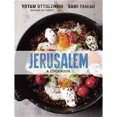 <p>For a passionate and delicious read, check out <span><strong>Jerusalem</strong> by Yotam Ottolenghi and Sami Tamimi</span> ($25). My husband and I received it as a present last year, and it's one of our favorite gifts. While we wait to travel abroad, this cookbook regularly takes us on bold culinary adventures. </p>