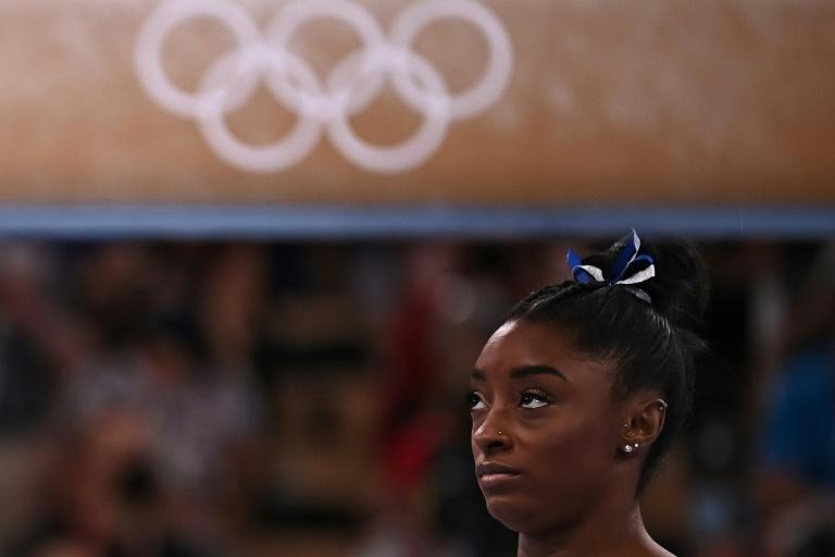 Simone Biles has helped place mental health centre stage