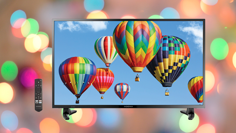Get this Smart HD TV—Fire TV Edition for just $120. (Photo: Insignia)