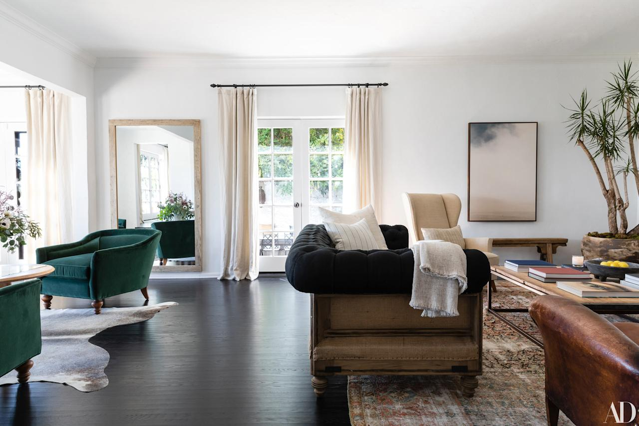 The actress, musician, and entrepreneur worked with designer-to-the-stars Jake Arnold to renovate and style her 1930s Spanish Colonial