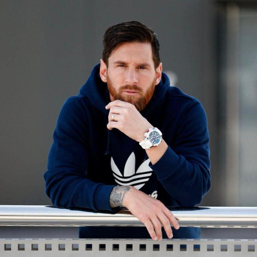 <em>Lionel Messi (Football)</em>: With total earnings of USD 127 million, the soccer star earns USD 92 million from salary and winnings and an additional USD 35m from endorsements. Notably, Lionel Messi was at number 2 position last year with USD 111 million in earnings. (Image: Instagram)