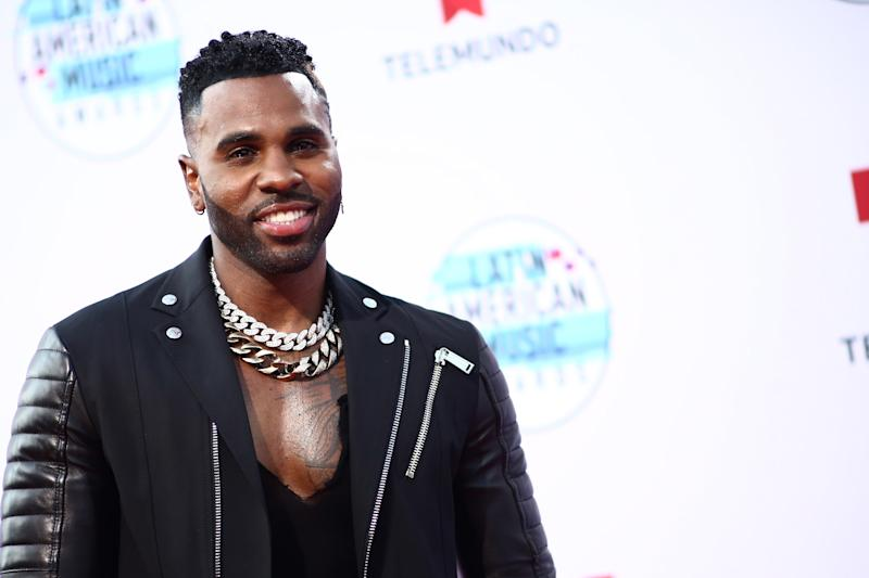 HOLLYWOOD, CALIFORNIA - OCTOBER 17: Jason Derulo attends the 2019 Latin American Music Awards at Dolby Theatre on October 17, 2019 in Hollywood, California. (Photo by Tommaso Boddi/WireImage)