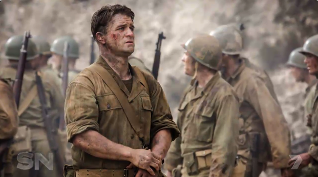Mel's son Milo features in his new movie Hacksaw Ridge