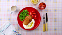 """<p><strong>Recipe: <a href=""""https://www.southernliving.com/recipes/chicken-fried-steak-recipe"""" rel=""""nofollow noopener"""" target=""""_blank"""" data-ylk=""""slk:Chicken Fried Steak"""" class=""""link rapid-noclick-resp"""">Chicken Fried Steak</a></strong></p> <p>This classic is made with tenderized beef steak that's breaded and served covered with a creamy pepper gravy.<br></p>"""