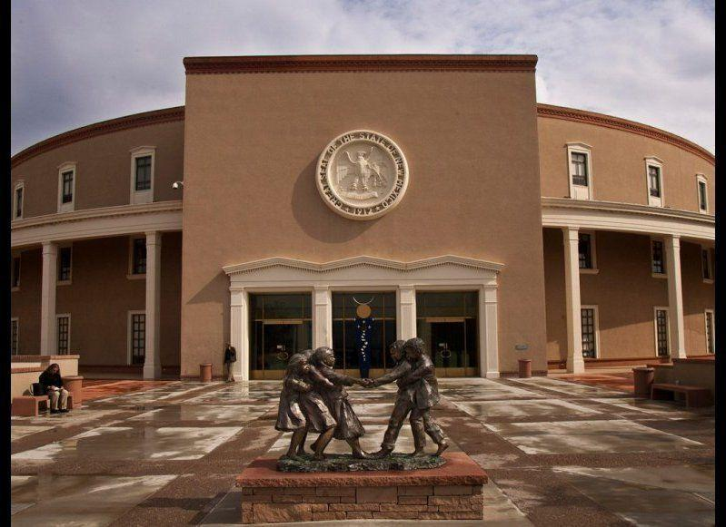 """<strong>NEW MEXICO STATE CAPITOL</strong> Santa Fe, New Mexico <strong>Year completed:</strong> 1966 <strong>Architectural style:</strong> New Mexico Territorial/Greek Revival <strong>FYI:</strong> New Mexico's Capitol is the only one housed in a completely round building, earning it the nickname """"The Roundhouse."""" When seen from above, the shape is meant to evoke the Zia sun symbol. <strong>Visit:</strong> Tour the capital on your own Monday through Friday, 7 a.m. to 6 p.m. Guided tours are available by appointment."""