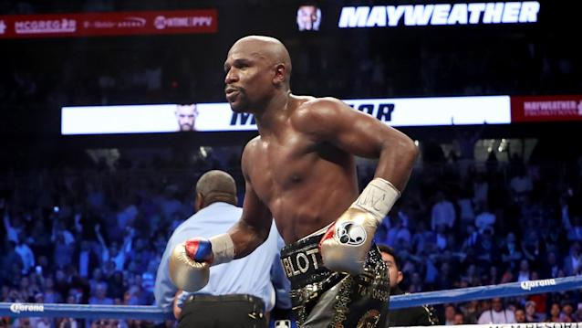 Yahoo Sports' Kevin Iole examines how although he's over 40 years old, and has zero mma bouts under his belt, Floyd Mayweather could make upward of half a billion dollars if he fights in the UFC.