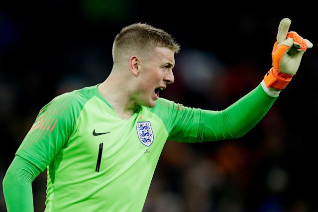 <p>Jordan Pickford<br> Age 24<br> Caps 2<br>Ronald Koeman believed he was buying England's new number one when he spent £30million on Pickford last summer and after confident clean sheets against Germany and Holland he is favourite to start the tournament. His ability to play the ball long or short at will could be just as important as his glovework.<br>Key stat: Kept 10 Premier League clean sheets this season and made the fourth-most saves in the division. </p>