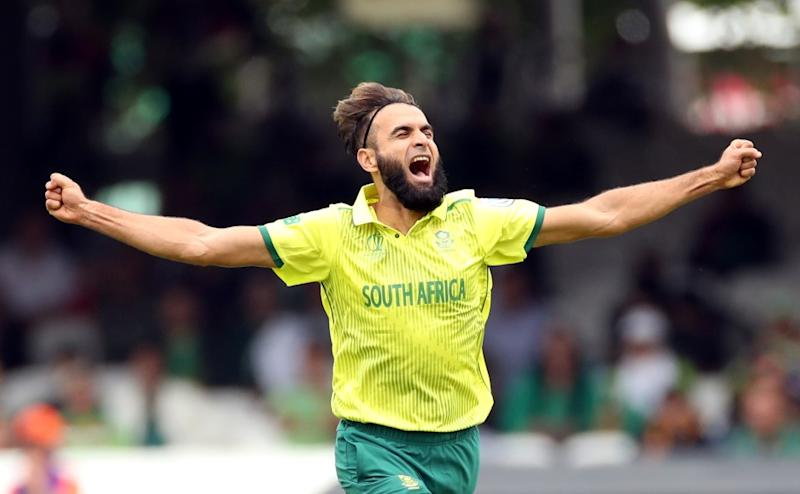 After 81-run stand for the opening wicket, Imran Tahir broke the partnership with the wicket of Fakhar Zaman, later he dismissed other opener Imam ul Haq as well.Reuters