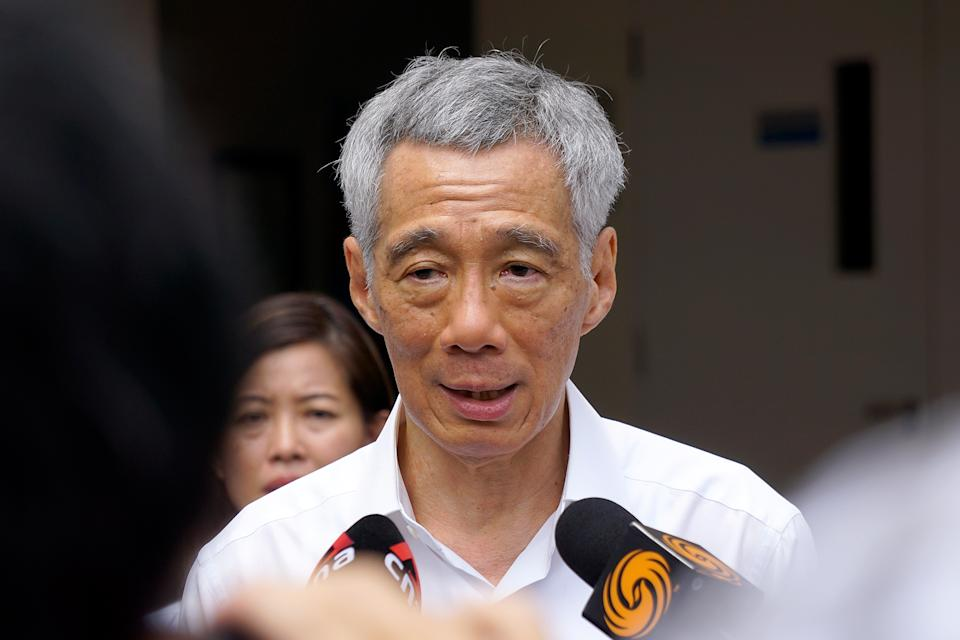 PM Lee's speech will be broadcast live at 4pm on his Facebook page as well as on Mediacorp channels.). (Yahoo News Singapore file photo)