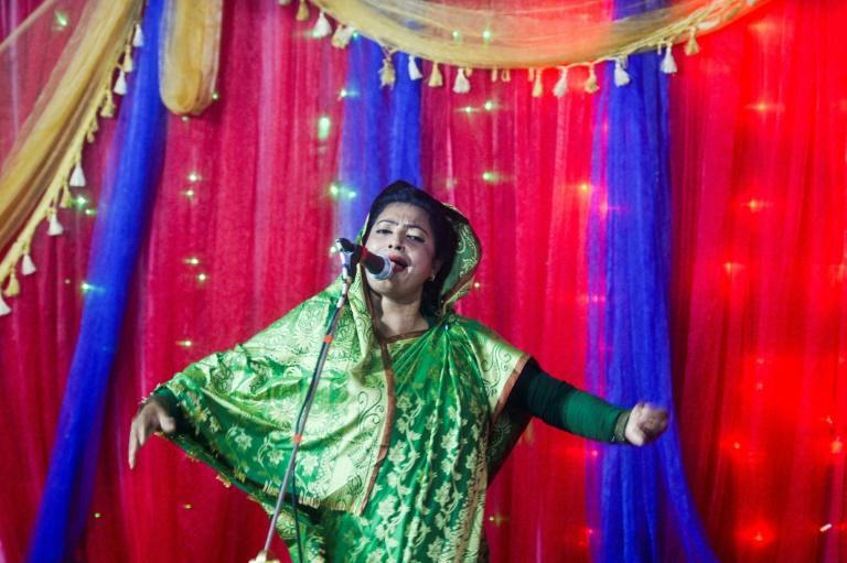 For years Sufi singer Rita Dewan captivated millions of followers in Bangladesh with her haunting ballads, but nowadays she lives in fear each performance will be her last