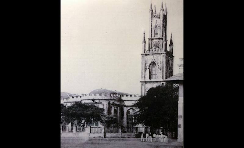 Photo of St Thomas Cathedral from 1885