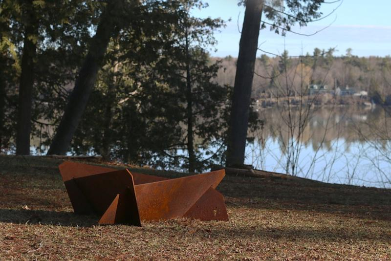 Large Corten Weathering Steel Fire Pit