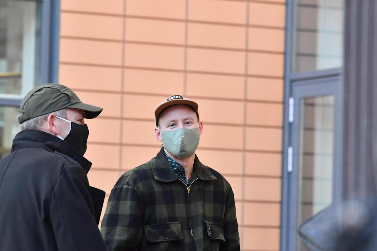 Milo Ponsford, 25, will have his case sent to crown court with the other three defendants. (PA)