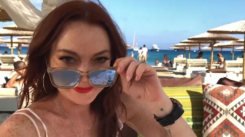 Lindsay Lohan gets shady on #MeToo