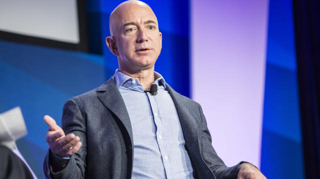 WASHINGTON ― Like most of the industry titans in the world of big tech, Amazon billionaire Jeff Bezos is no fan of labor unions.
