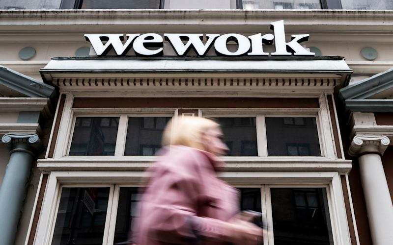 WeWork on track to turn profitable and will revisit plans to go public
