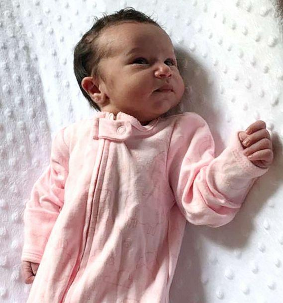PHOTO: Forsyth County Sheriff's Office released this undated photo of a new born baby girl who was located in a wooded area on June 6, 2019. (Forsyth County Sheriff's Office)
