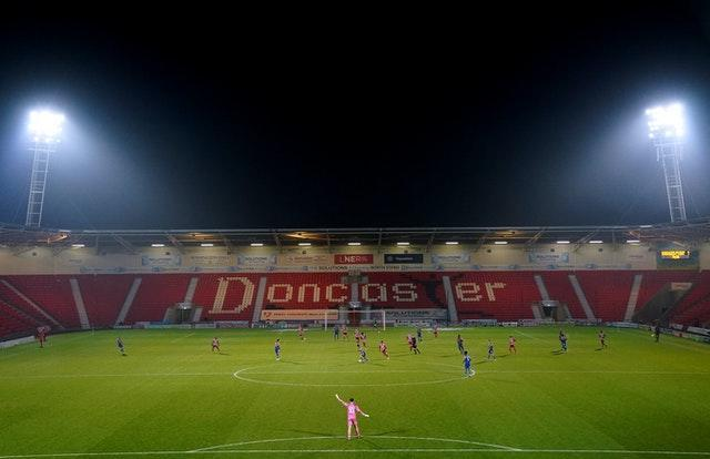 Doncaster Rovers v Shrewsbury Town – Sky Bet League One – Keepmoat Stadium