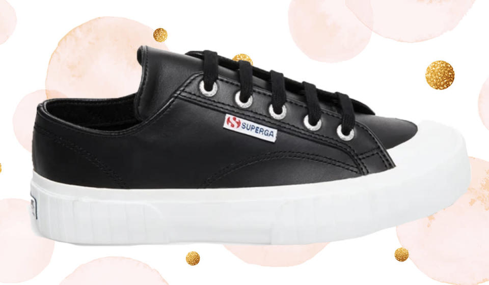 Get ready for everyone to ask you where you got these. (Photo: Superga)
