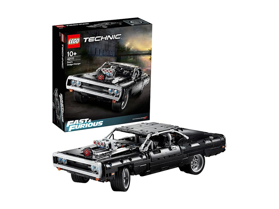 Lego technic 'Fast & Furious' Dom's Dodge charger: Was £89.99, now £51.99, Amazon.co.uk (Amazon)