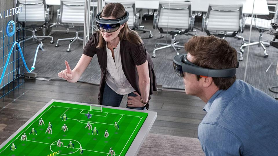 The big advantage and disadvantage of virtual reality is that it switches you off to the outside world. That's why Apple CEO, Tim Cook, prefers augmented reality, as it is much easier to interact with those not wearing a headset.