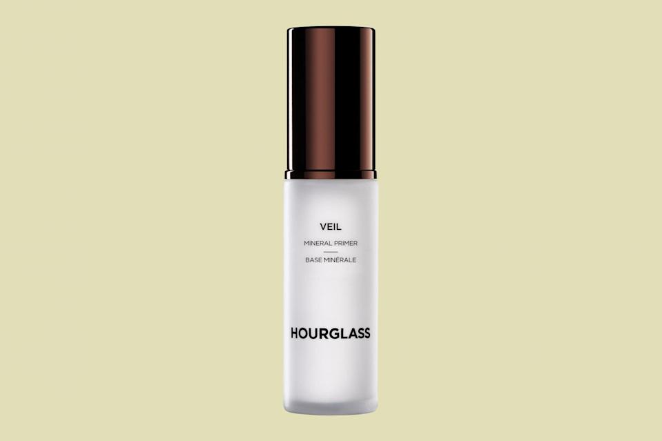 "<p>This cream primer is formulated with ultra-fine powder to softly blur the appearance of any imperfections. It's suited for all skin types and has been a staple in <a href=""https://www.marthastewart.com/2222718/holy-grail-skincare-products-dermatologists"" rel=""nofollow noopener"" target=""_blank"" data-ylk=""slk:many beauty experts' bags for years"" class=""link rapid-noclick-resp"">many beauty experts' bags for years</a>—which means it's worth making room for in your routine.</p> <p><strong><em>Shop Now: </em></strong><em>Hourglass Veil Mineral Primer, $54, <a href=""https://click.linksynergy.com/deeplink?id=93xLBvPhAeE&mid=1237&murl=https%3A%2F%2Fwww.nordstrom.com%2Fs%2Fhourglass-veil-mineral-primer%2F3930156&u1=MSLTheBestFacePrimersforSmoothEvenMakeupApplicationsbamseyBeaGal7987429202009I"" rel=""nofollow noopener"" target=""_blank"" data-ylk=""slk:nordstrom.com"" class=""link rapid-noclick-resp"">nordstrom.com</a></em><em>.</em></p>"
