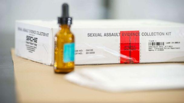 PHOTO: A sexual assault evidence collection kit sits in the Ohio Bureau of Criminal Investigation Laboratory on Jan. 27, 2016, in Richfield, Ohio. (Christian Science Monitor via Getty Images, FILE)