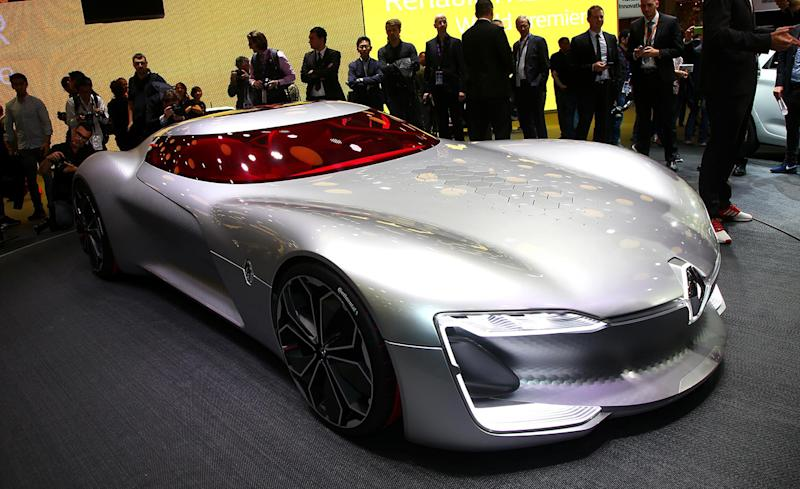 Renault Trezor Concept Dream Cars Are Made Like This