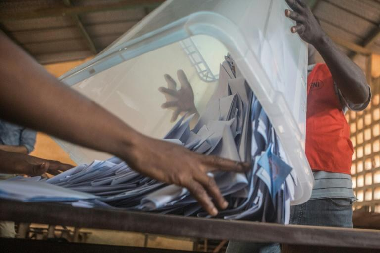 Official provisional results in the Togo election are expected early next week
