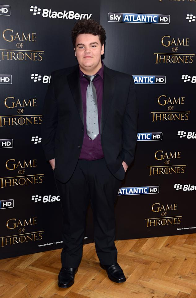 LONDON, UNITED KINGDOM - MARCH 26: Ben Hawkey attends the season launch of 'Game of Thrones' at One Marylebone on March 26, 2013 in London, England. (Photo by Karwai Tang/Getty Images)
