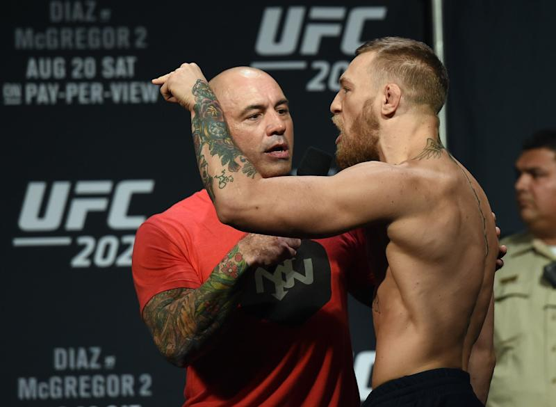 Joe Rogan and Conor McGregor