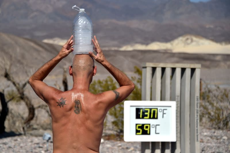 FILE PHOTO: Extreme Heat in Death Valley
