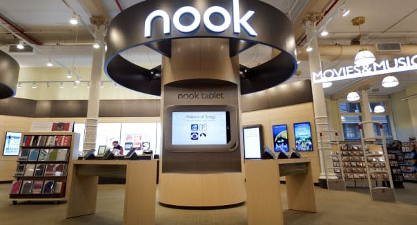 Barnes & Noble Nook Tablet Goes On Sale